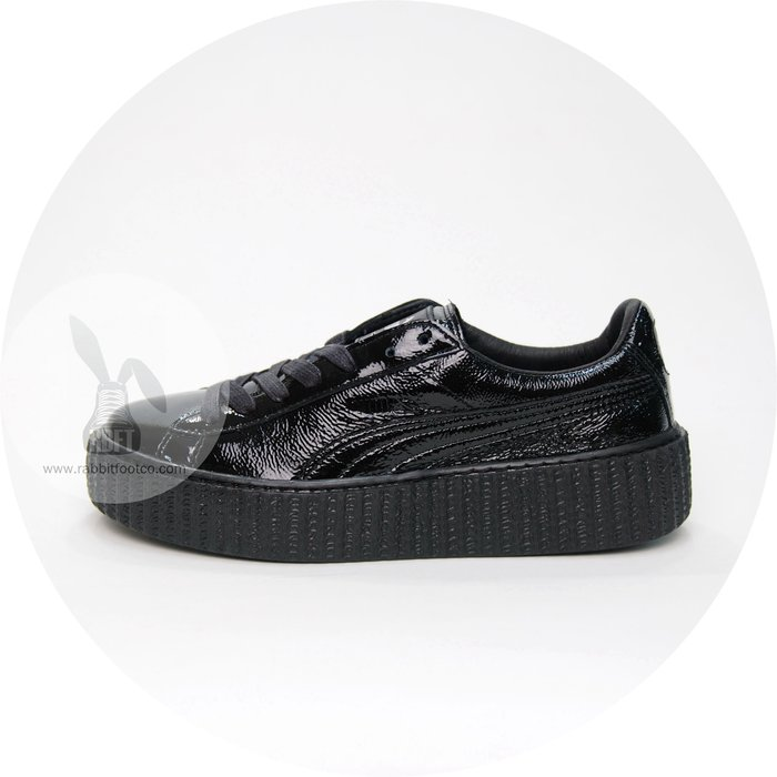 [RabbitFoot] PUMA CREEPER WRINKLED PATENT 364465-01 黑