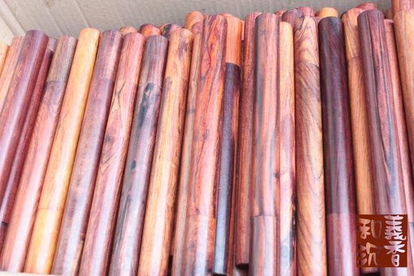 臥香管【和義沉香】《編號W17》批發零售 高質感紅木臥香管 品香原木臥香管  原價每管$120 十管超值優惠$1000