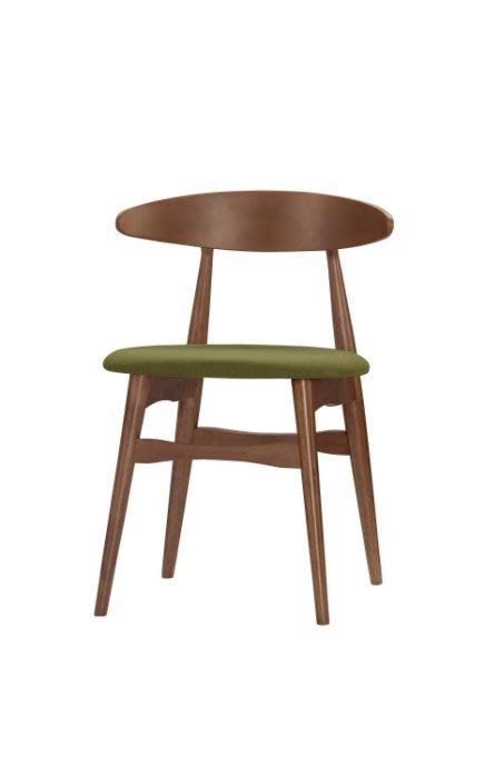【DH】商品貨號G513-12商品名稱《斯爾邁》實木(布面)餐 椅(圖一)細膩優質經典.主要地區免運費