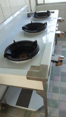 歡迎光臨我的e網賣場南門餐廚設備大賣場3爐中壓瓦斯炒台
