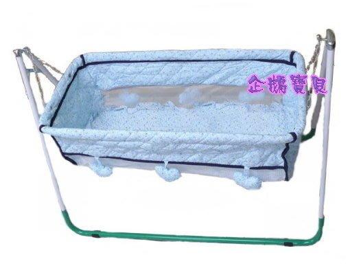 @企鵝寶貝@ 復古型手動嬰兒布搖籃~嬰兒布搖床~全新~臺灣製~像抱在懷裡的傳統型