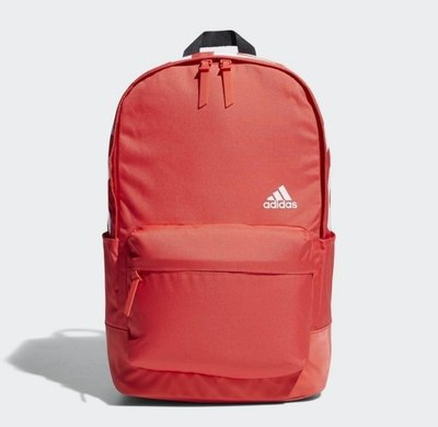 # ADIDAS BACKPACK 紅色 LOGO 休閒 運動 水壺袋 雙肩 後背包 登山 CV4947 YTS