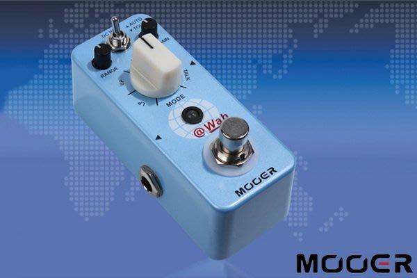 ☆唐尼樂器︵☆ Mooer @Wah Auto Wah 數位自動哇哇 電吉他效果器