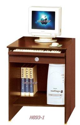 【DH】商品貨號N893-1商品名稱《資優生》2尺電腦桌下座/胡桃色。簡約輕巧優質。主要地區免運費
