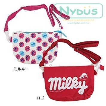 尼德斯Nydus 日本正版 不二家 牛奶妹 牛奶糖 迷你托特包 小包包 零錢包 手機包 17x11.5cm