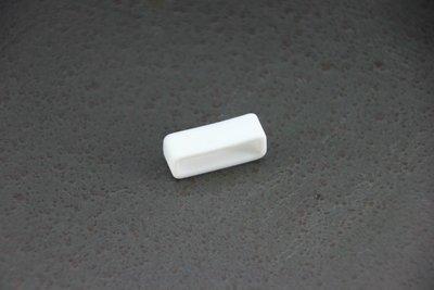 白色18mm矽膠表帶圈,錶圈,錶帶環可替代casio jaga seiko等同規格電子錶造型錶石英錶..之錶圈