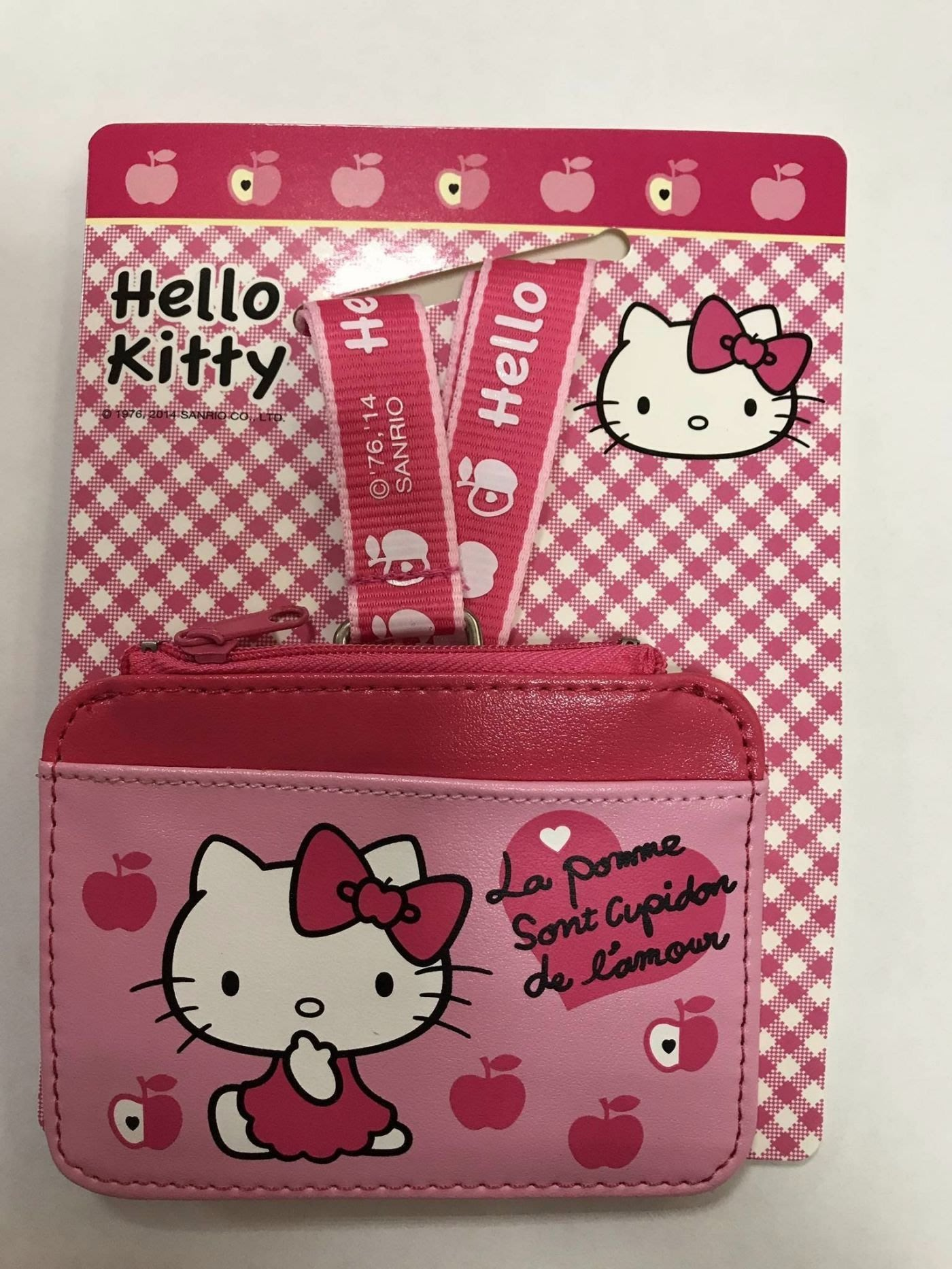 Hello Kitty KT二代證件套連頸繩4713791962834