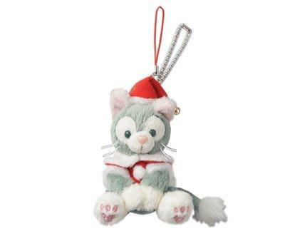 尼德斯Nydus~*東京迪士尼海洋 達菲熊Gelatoni 傑拉托尼 畫家貓 傑拉貓 聖誕節限定 坐姿-約10cm