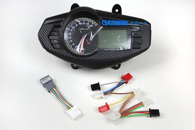 [極致工坊] 1CJ 二代勁戰 改 四代勁戰 2UB 液晶 儀表 KOSO 碼錶 專用接頭 直上電路 轉接線組