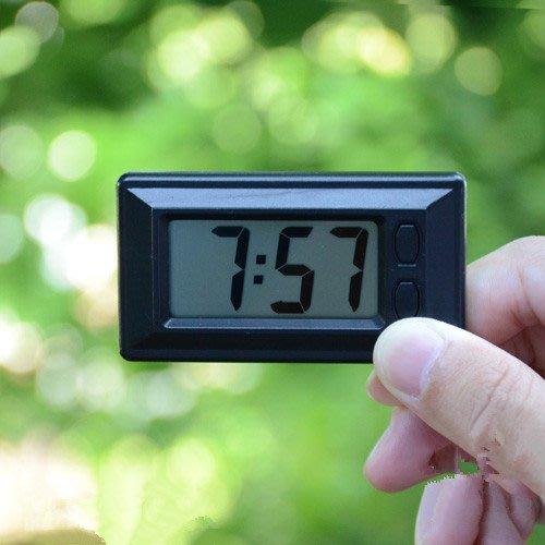 汽車時鐘電子錶車載電子時鐘車用時間鐘錶液晶顯示汽車用品新品