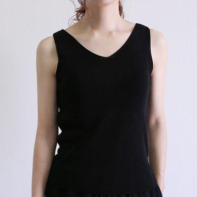 girlmonster V領 針織無袖上衣 (六種顏色)  【A0234】一起購買兩件有優惠價