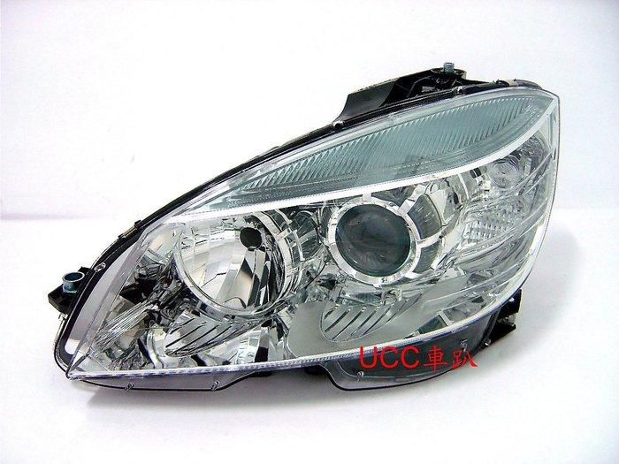 【UCC車趴】BENZ 賓士 W204 07 09 08 10 11 歐規 原廠型 晶鑽大燈 (TYC製) 一組7400