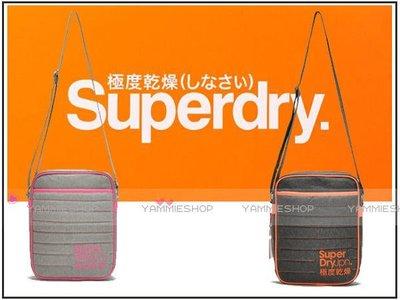 ~YAMMIESHOP~真品英倫潮牌SUPERDRY 極度乾燥夾棉內層 斜背包 書包肩包平板包(SBJ10)