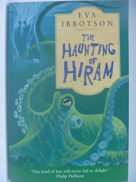 【月界二手書店】The Haunting of Hiram_Eva Ibbotson ║外文小說║CCW