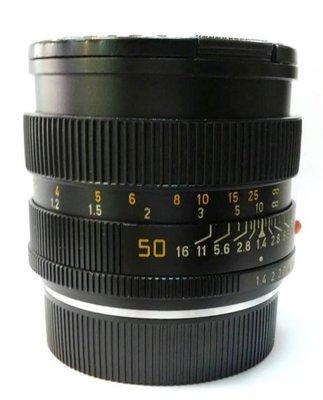 @佳鑫相機@(中古託售品)LEITZ SUMMILUX-R 50mmF1.4 大光圈標準鏡頭 非ROM版