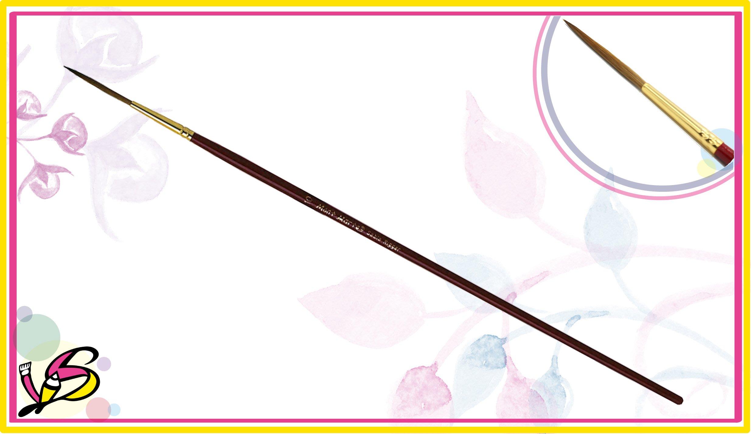 【世薪美術社】蒙馬特長峰拉線筆,強而有力彈性佳,毛峰不易變形,畫線好選擇!【10號】