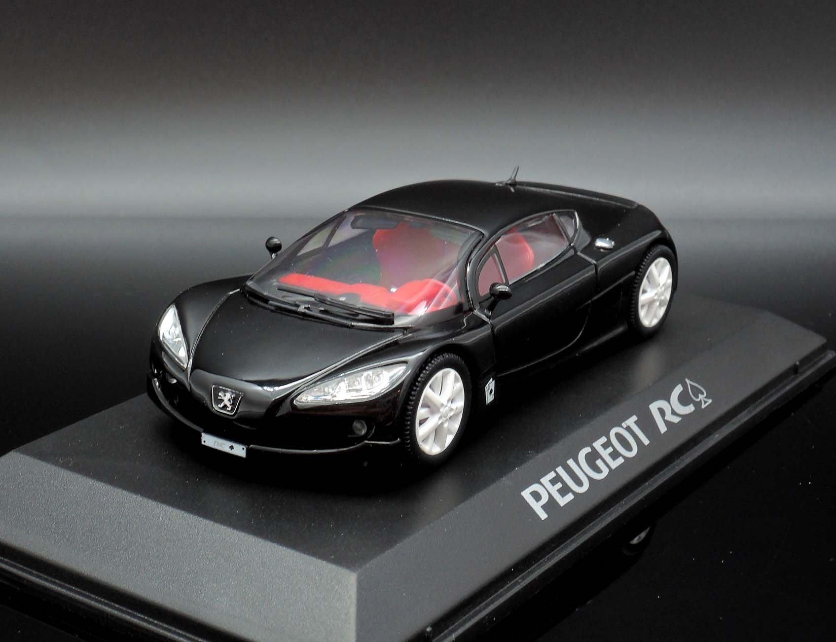 【M.A.S.H】[現貨瘋狂價] Norev 1/43 Peugeot RC Pique Concept Car 黑