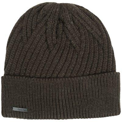 【Calvin Klein CK 】100% 全新正品 秋冬新品 CK LOGO  中性 毛帽 *CKH10*