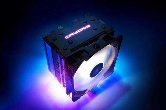 @淡水無國界@ CRYORIG H7 QUAD LUMI RGB 燈效 塔型散熱器 發光版 含運 RGB 發光 快睿