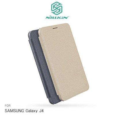 *phone寶*NILLKIN SAMSUNG Galaxy J4 星韵皮套 側翻皮套 保護套 保護殼