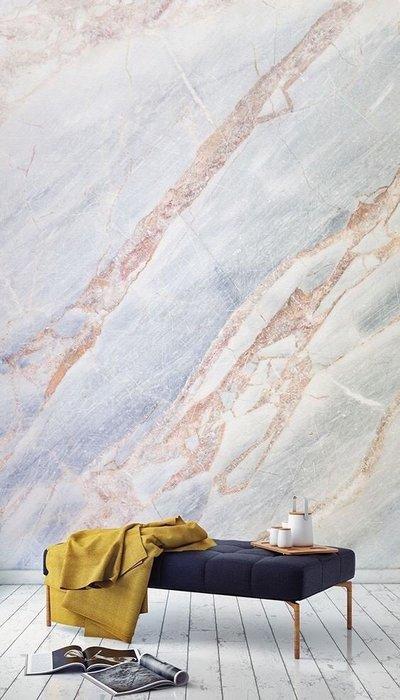 【Uluru】客製化 壁紙 壁畫 北歐風 大理石 水彩 整幅壁畫 壁紙 DIY壁紙 客廳牆 咖啡廳 早午餐 設計師款