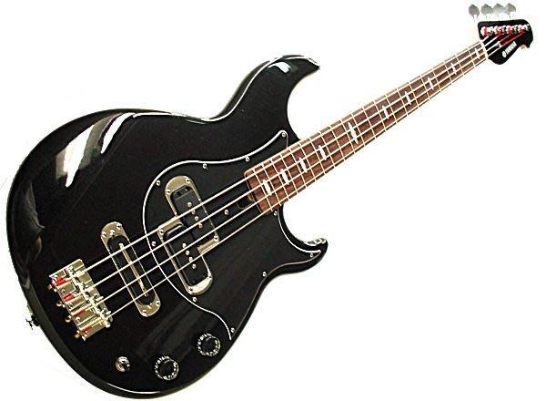 【六絃樂器】全新 Yamaha BB414X-BM 金屬黑色電貝斯 印尼廠 / 現貨特價