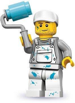 【LEGO 樂高】積木/ Minifigures人偶系列:10代人偶包抽抽樂 71001   油漆工 Decorator