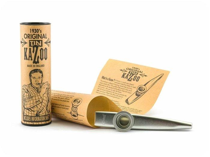 ♪♪學友樂器音響♪♪ Clarke Original TIN 金屬卡祖笛 Kazoo 銀色