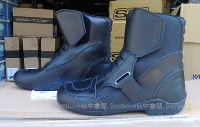 ~台中倉儲~ EXUSTAR SBT291W ESBT291W 防水 短靴 車靴 防摔靴 賽車靴