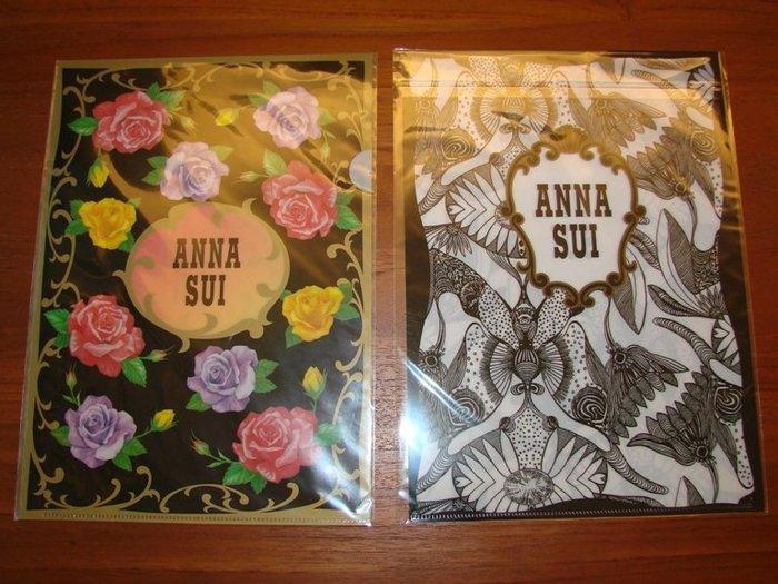 【∮魔法時光∮】ANNA SUI 安娜蘇 經典薔薇文件夾+魔法星願文件夾2款各1⃣️個/資料夾/檔案夾
