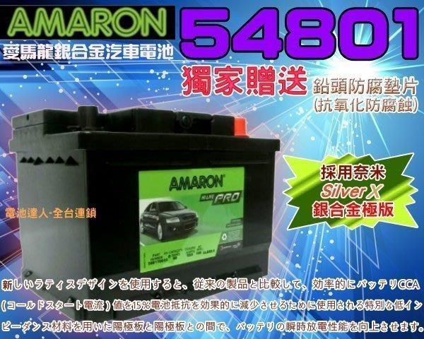 【勁承電池】DIY自取交換價 54801 愛馬龍 汽車電瓶 Citigo SMART FOCUS FIESTA SX4