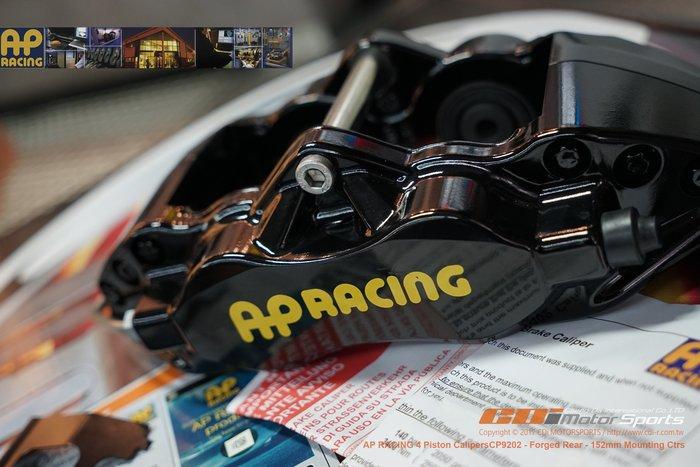 AP RACING CP-9202 專用後四活塞組 搭配三片式碟盤 CP9040 前六後四完整搭配制動表現 / 制動改