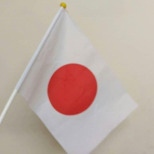 【沖田屋 和裝本鋪】日本頭巾系列--手搖日本國旗
