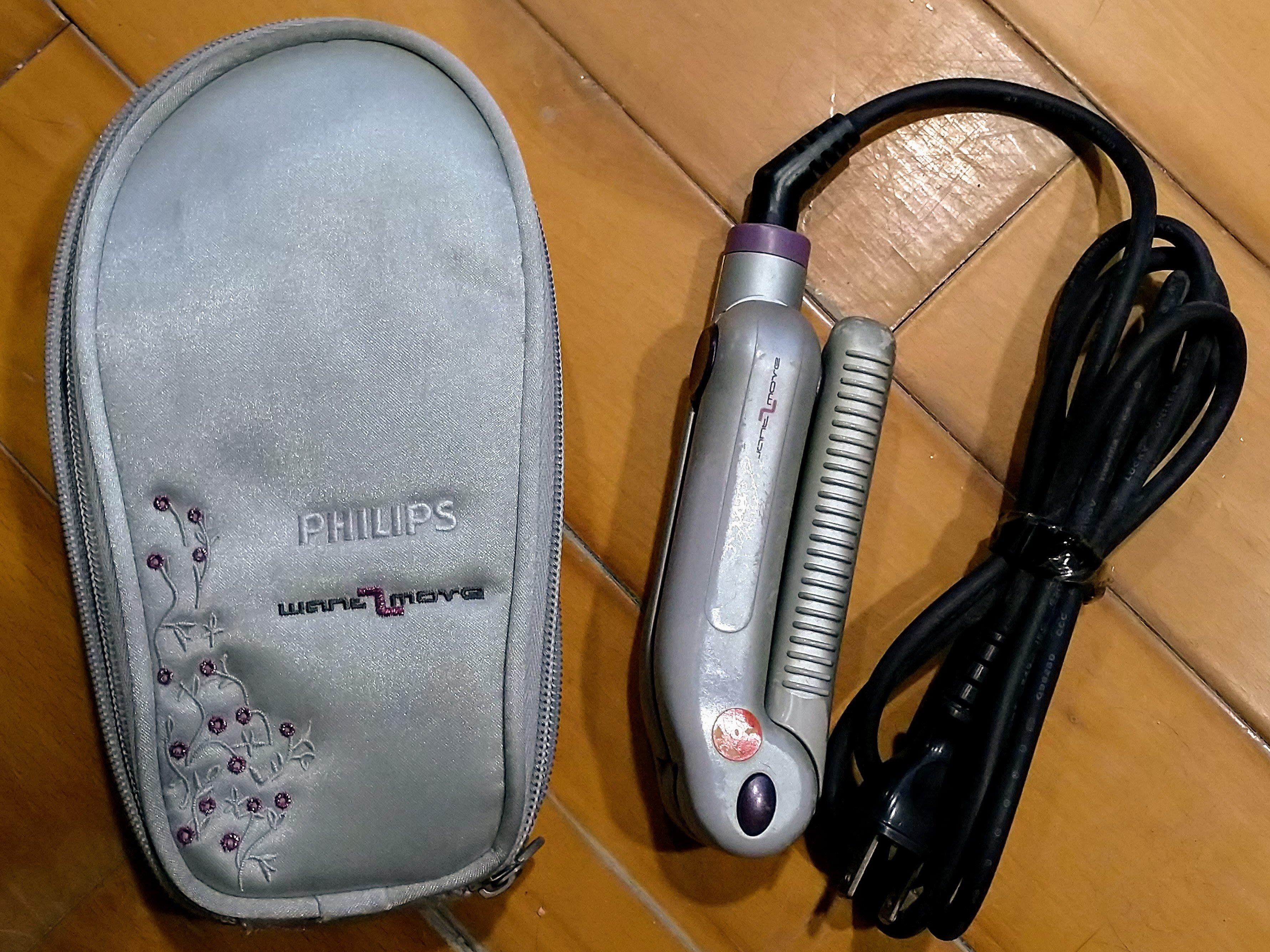 Philips飛利浦沙龍級旅行用直髮器/離子夾HP-4646