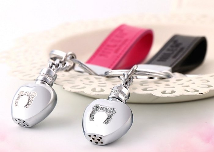 母親節禮物熱賣 閨蜜 伴娘禮 米勒斯獨家香水瓶鑰匙圈 生日禮 【愛光臨】單個