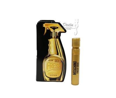 Moschino Gold Fresh Couture 亮金金 小清新 女性淡香精 1ML 全新 可噴式 試管香水
