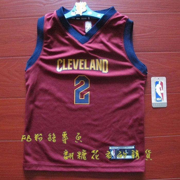 美國正品 NBA adidas 兒童球衣 籃球背心 凱里·厄文 Kyrie irving 騎士隊