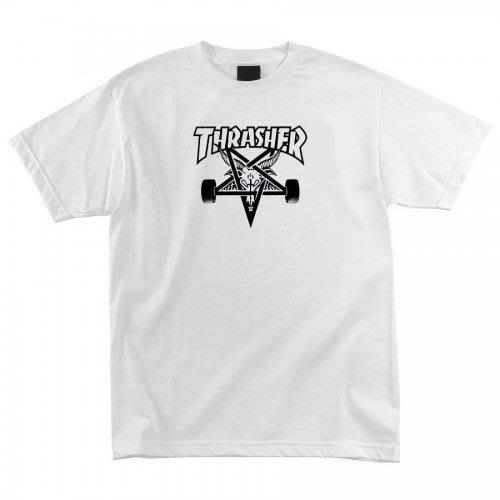 《Nightmare 》Thrasher Magazine Skategoat T-Shirt - White