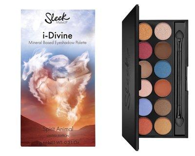 【愛來客】英國sleek 彩妝限量版 12色眼影 i-Divine Spirit Animal 眼影盤