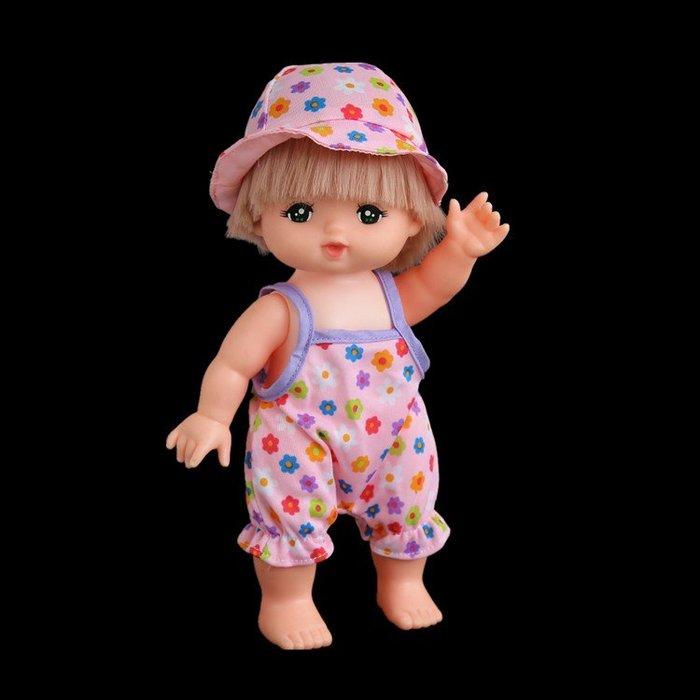 【小黑妞】小美樂夏日玩水游泳系列---彩色繽紛泳裝+泳帽2件套【現貨】