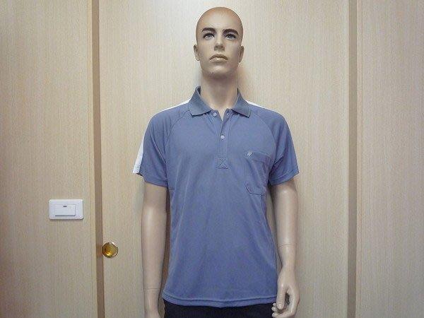 「喜樂屋戶外」男款短袖POLO排汗衫排汗衣抗UV透氣、快乾、不黏身台灣製 C22001 換季出清 團體服訂製