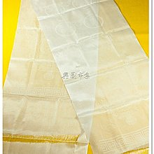 【興園市集】絲質哈達‧白色‧180 x 32 公分‧尼泊爾 ‧No.0260