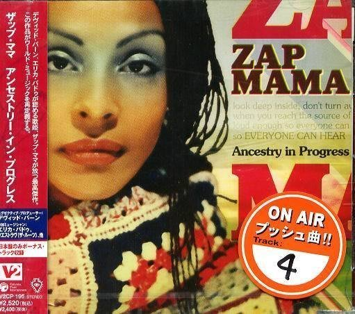 (甲上唱片) ZAP MAMA - ANCESTRY IN PROGRESS - 日盤+1BONUS