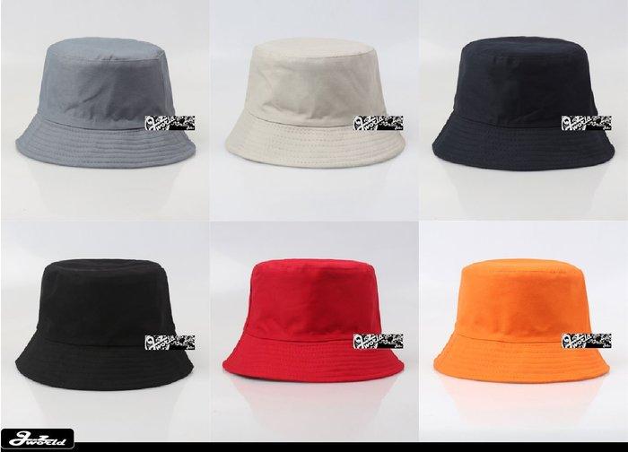 [ j.z world 小版男裝 ] 獨家預購 特價100元 素面素色 GD基本款紳士版型 漁夫帽 潮流/街頭/男女皆可
