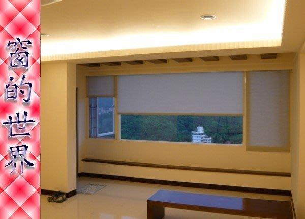 【窗的世界】20年專業製作達人,高度隱密客廳 辦公室專用捲簾窗簾 (透光又高度隱密)