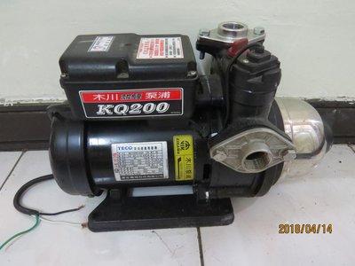 金美馬達 木川東元馬達KQ200  1/4hp 電子穩壓加壓機