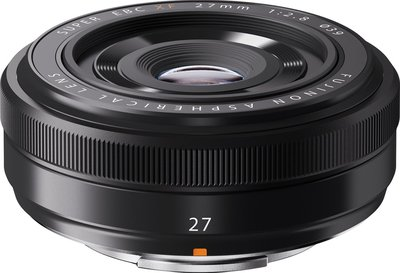 【高雄四海】Fujifilm 富士 FUJINON XF 27mm F2.8 黑色.全新平輸.一年保固.輕巧好帶.餅乾鏡
