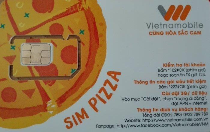 〈寶媽雜貨小舖〉越南 Vietnamobile 電信 30日15G流量上網卡  附轉接卡及