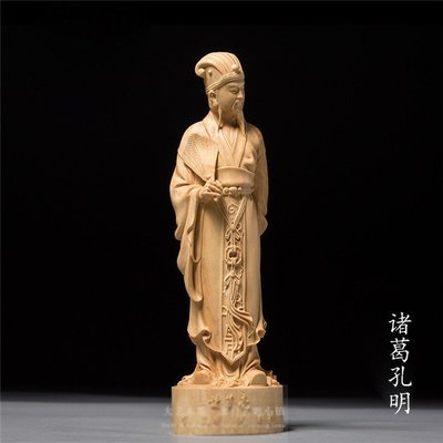 吉善缘@黃楊木雕擺件 創意居家裝飾雕刻...