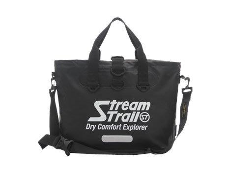 玉米潮流本舖 日本 STREAM TRAIL MARCHE DX1.5 RIDER-BK多功能騎士托特包 防水包 瑪瑙黑
